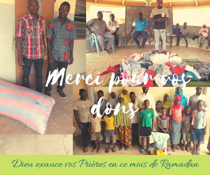 Des gestes de solidarités au profit des enfants du Centre Kandyaa à Sokodé