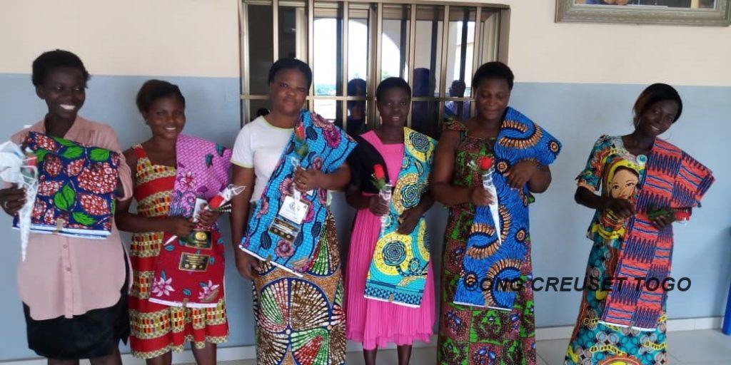 Visite d'une délégation du  ministère de l'action sociale au siège de Creuset Togo