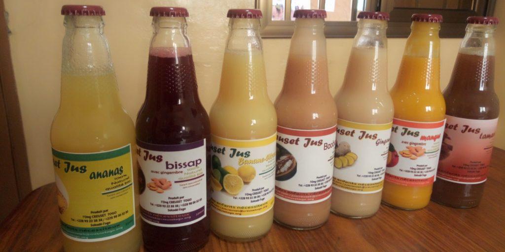 Enfin disponibles les jus de fruits Creuset : Creuset Jus