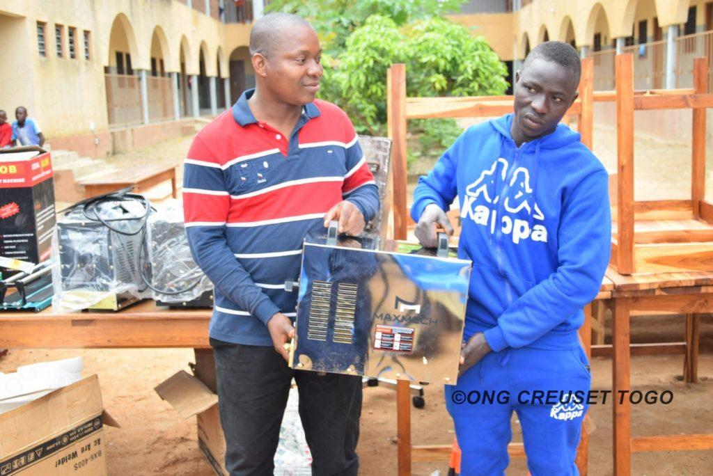 Creuset Togo et ses partenaires assurent la réinsertion sociale et professionnelle des jeunes dans la région Centrale et Kara