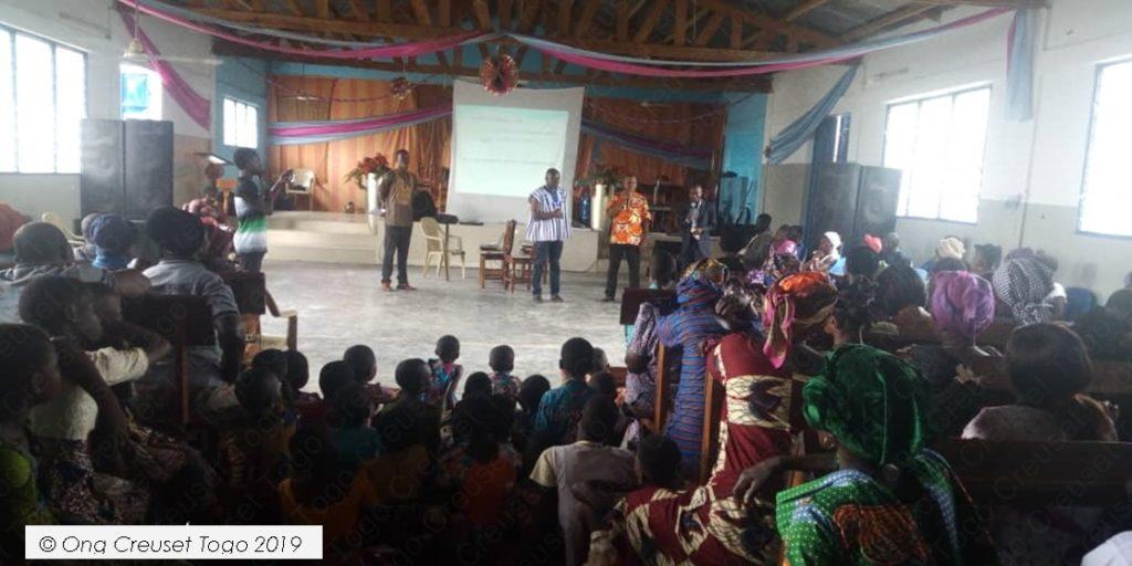 Creuset Togo mobilise la communauté religieuse au profit des enfants en conflit avec la loi.