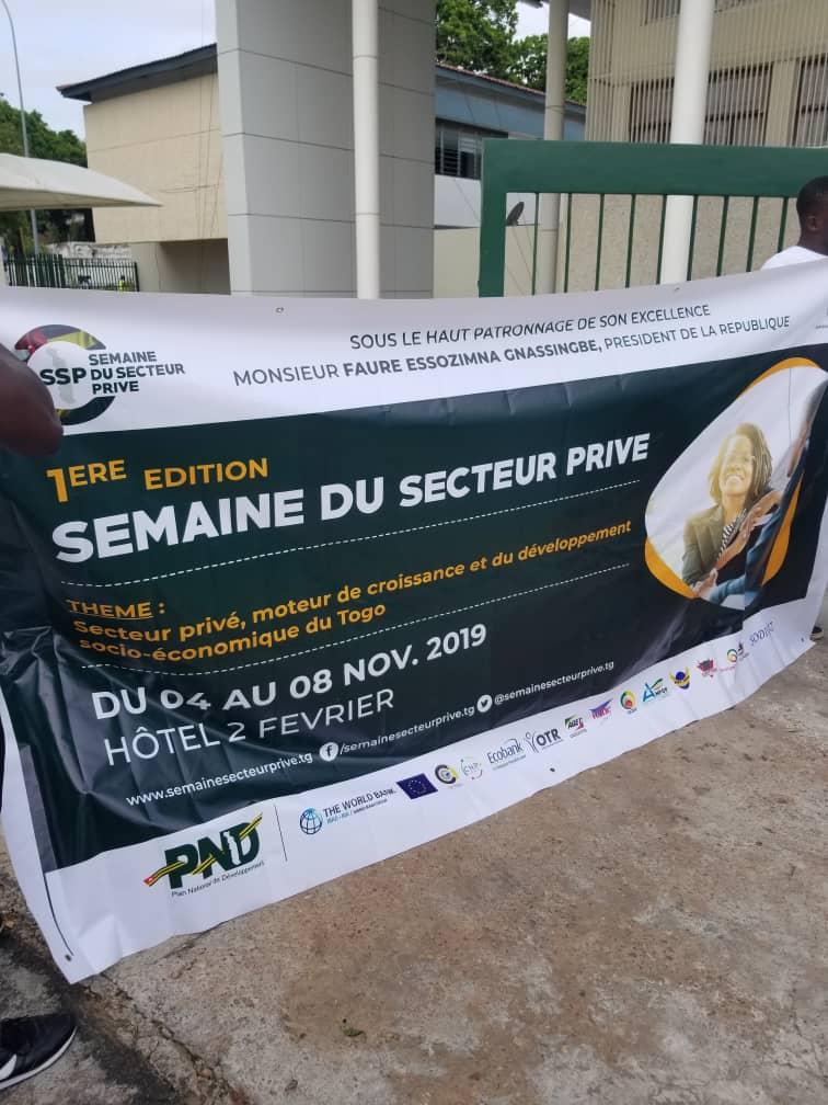 Semaine du secteur privé au Togo, une opportunité pour Creuset Togo de faire connaître ses jus de fruits