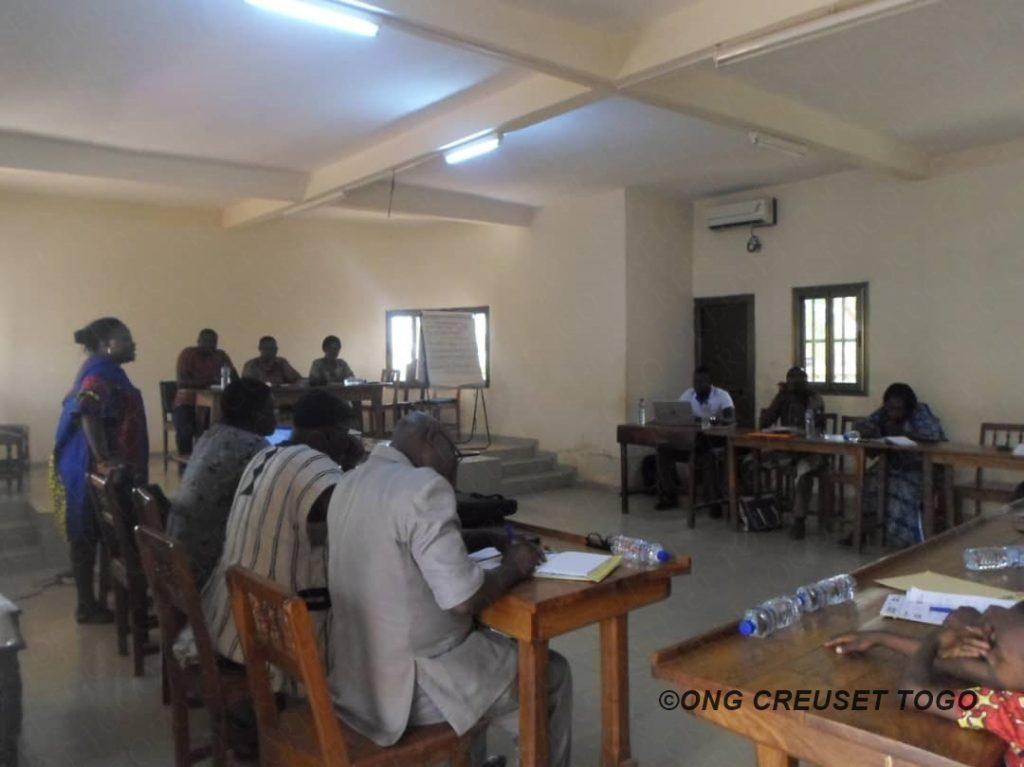 Réunion de coordination préfectorale du projet lutte contre les violences de genre au Togo