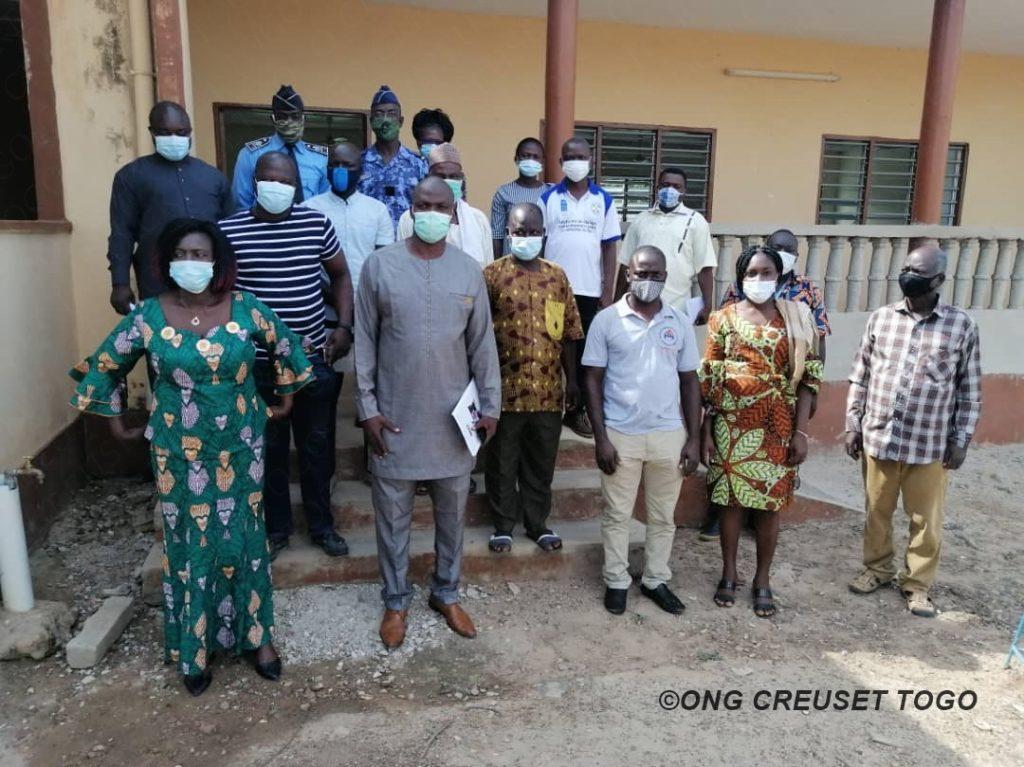 La gestion des cas de violences et d'abus sur les enfants dans les préfectures de Tchaoudjo et Tchamba.
