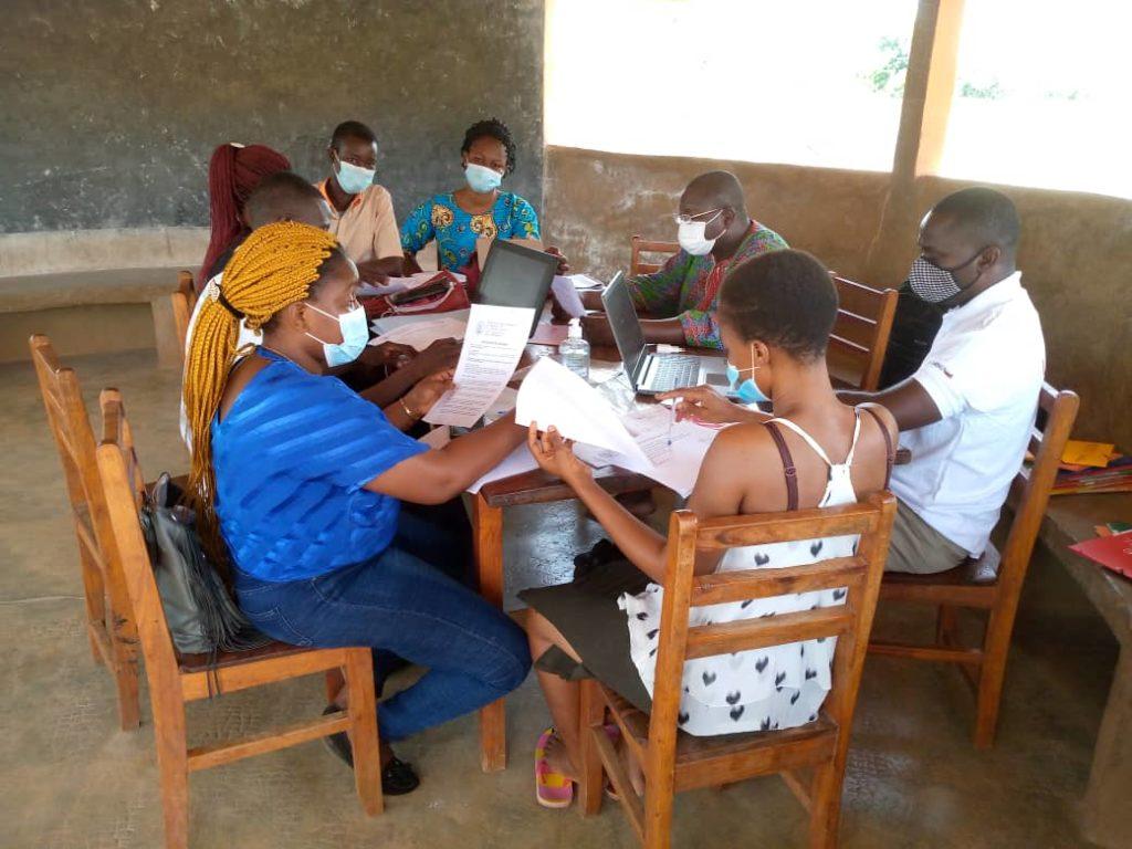 Accompagnement des centres d'accueil pour enfant dans la préfecture de la Binah par Creuset Togo