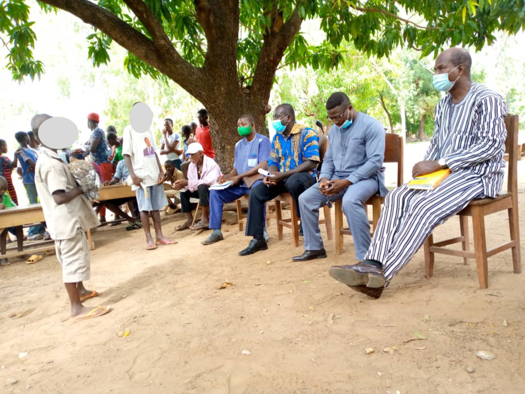 Affaire d'enfants accusés de sorcellerie dans la préfecture de la Kozah