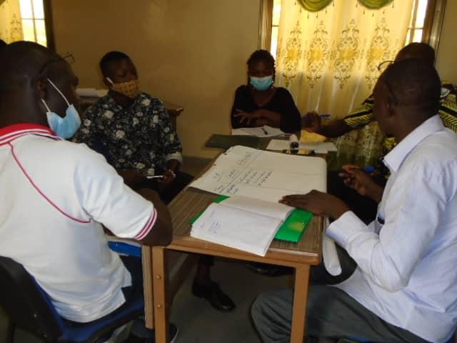 Validation du rapport à mi parcours du projet d'accompagnement des structures d'accueil pour enfant (PASPEV)